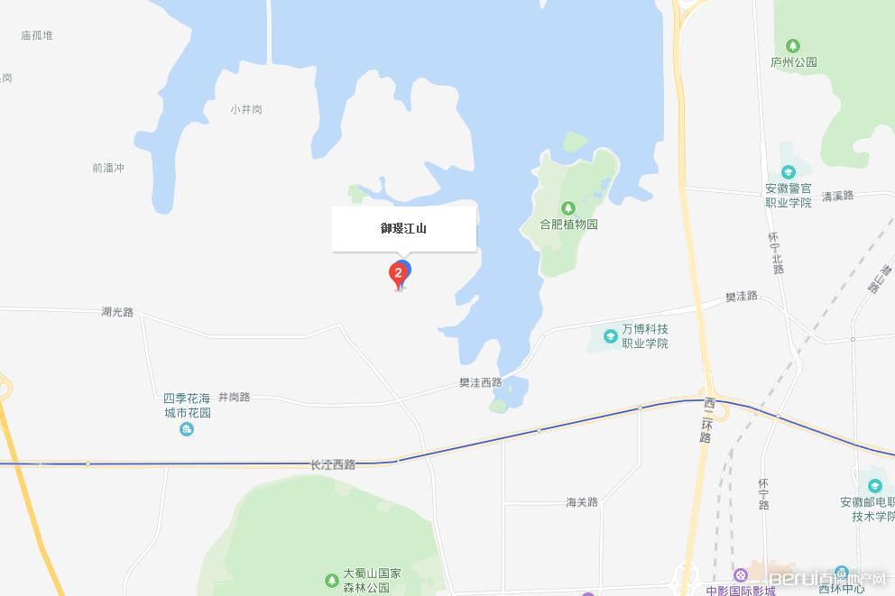 御璟·江山交通图