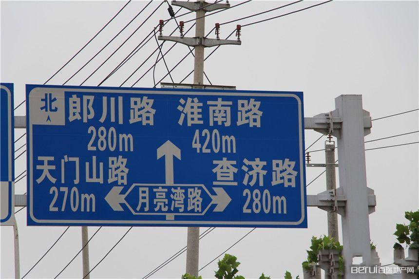 百大东兴家园交通图