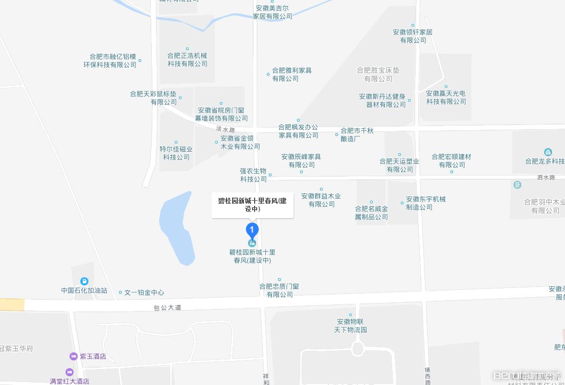 碧桂园新城·十里春风交通图