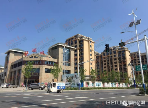 庐江望湖城实景图