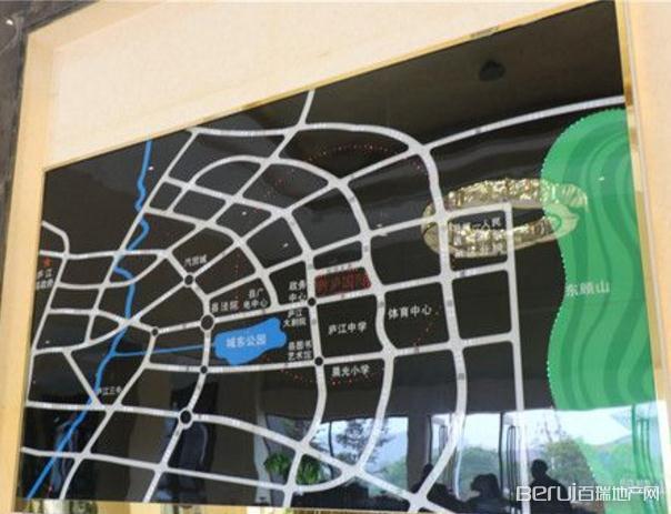 新庐国际交通图