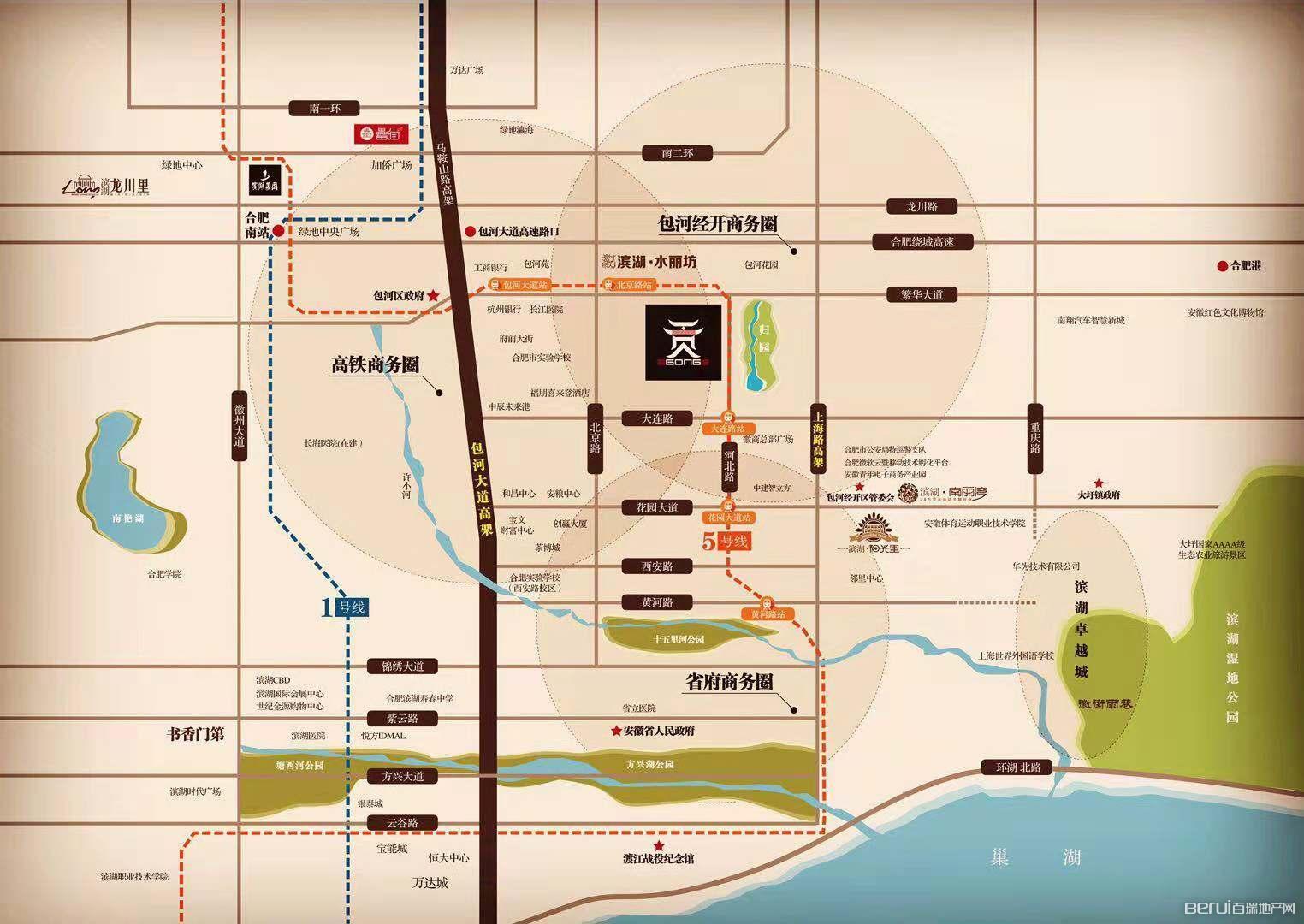 贡院交通图