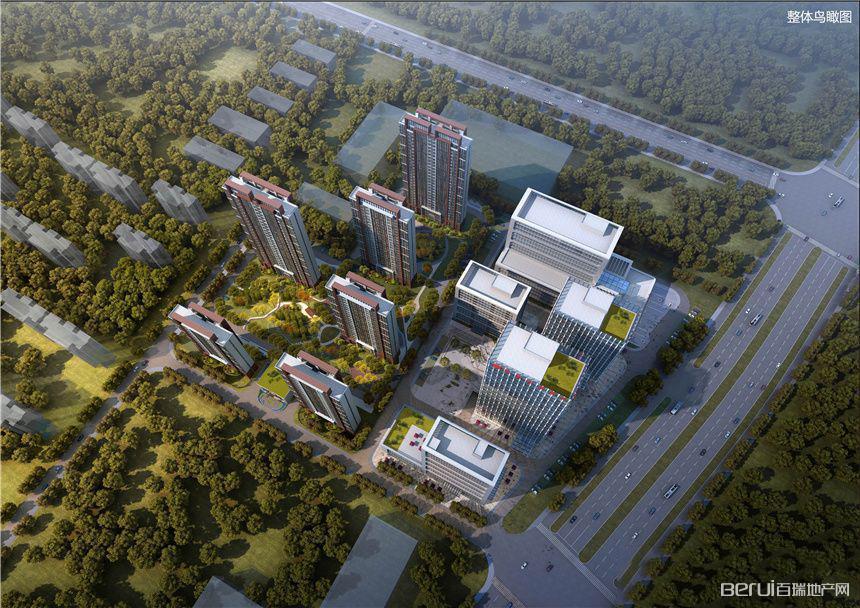 邦泰科技城效果图