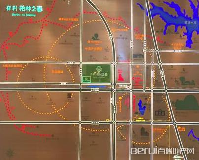 保利柏林之春交通图