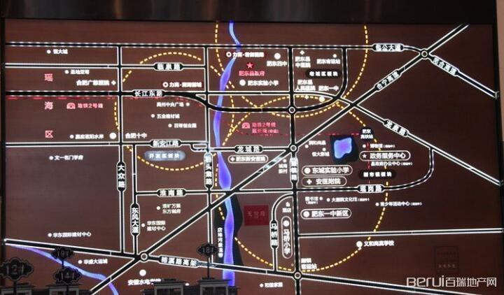 力高前城·天悦府交通图