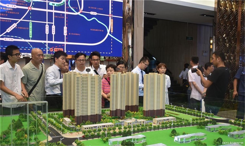 中国铁建·清溪国际璟园实景图
