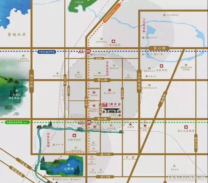 伟星国宾台交通图