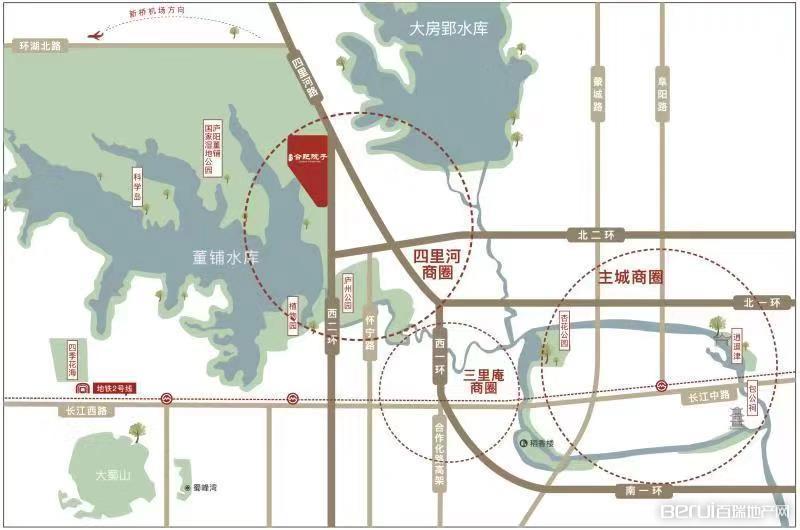 文一泰禾·合肥院子交通图