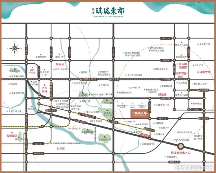 尚泽·琪瑞东郡交通图
