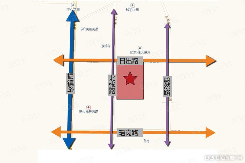 斌锋·和睦公馆交通图