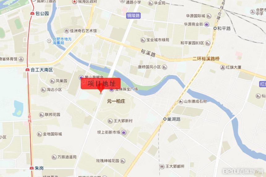星河广场交通图