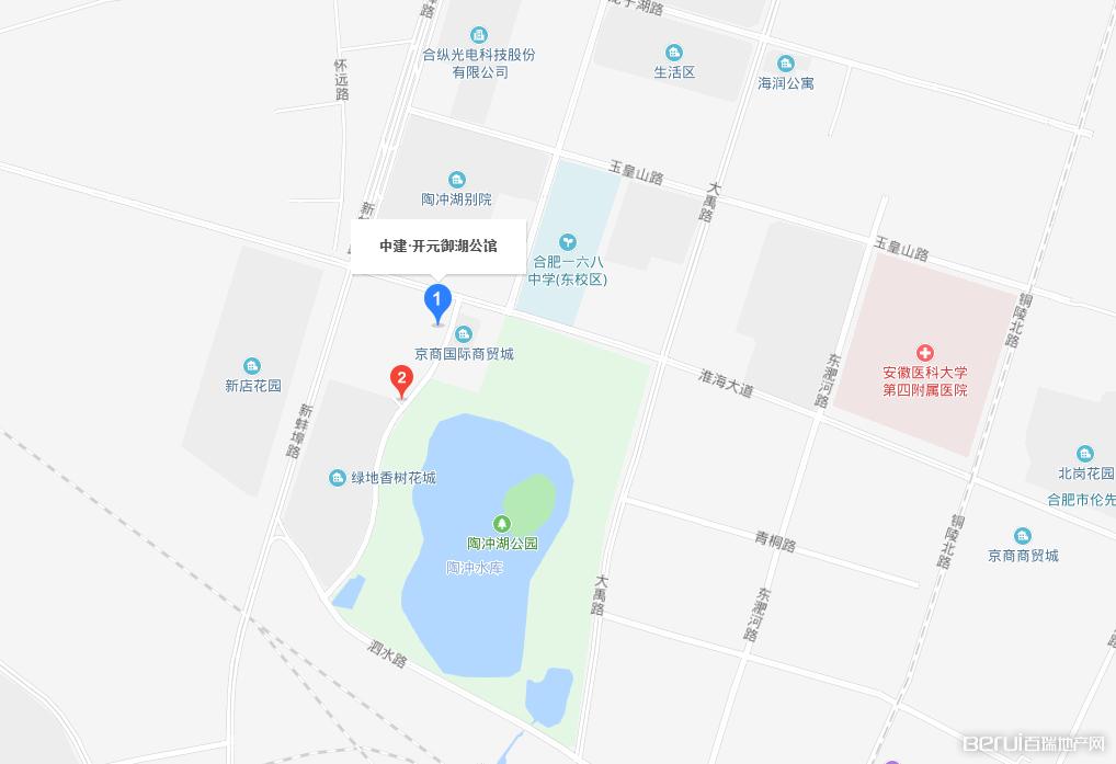 中建开元御湖公馆交通图