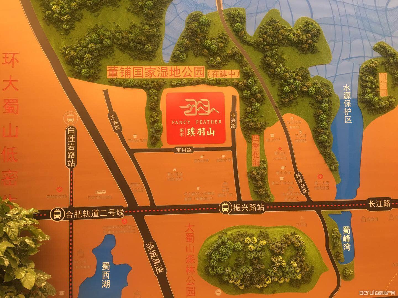 丽丰璞羽山交通图