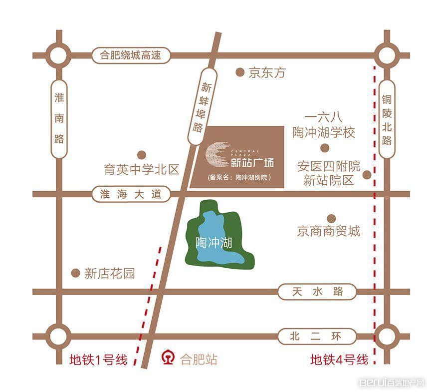新站广场配套图