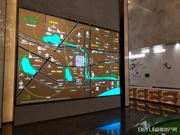 皖投万科产融中心交通图