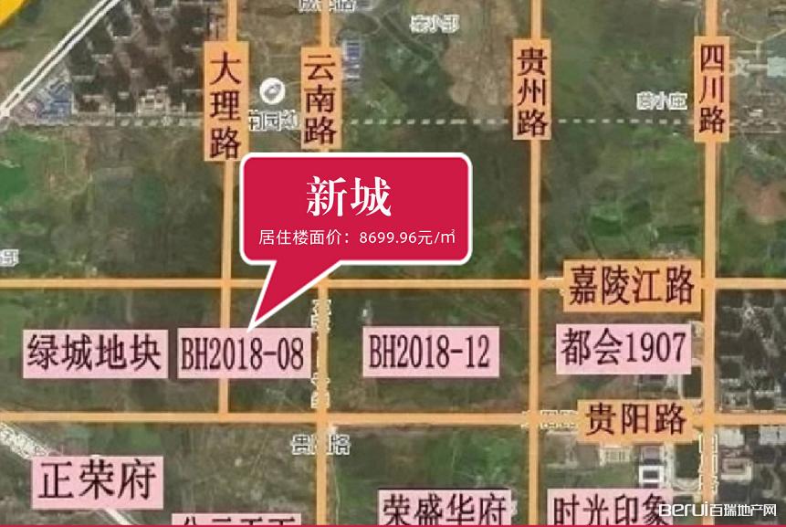 新城·滨湖云境卫星图