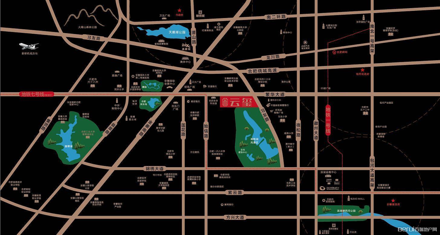 海尔产城创云玺交通图