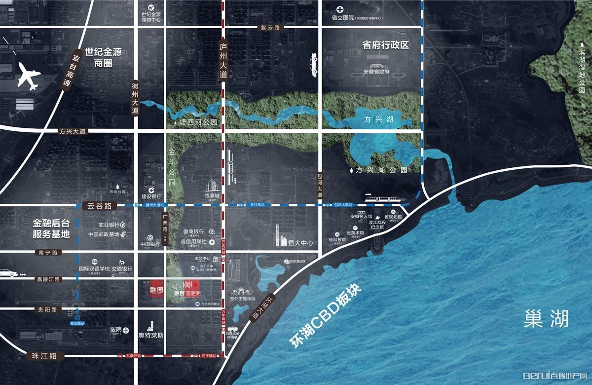 合肥融创文旅城·融园交通图