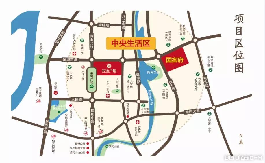 振兴·文禾赋交通图