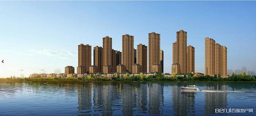 康恒滨湖蓝湾实景图
