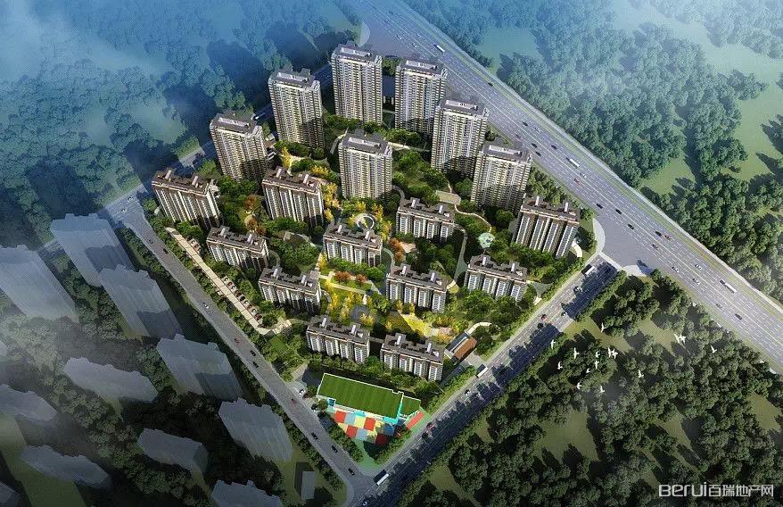 中国铁建悦湖国际效果图
