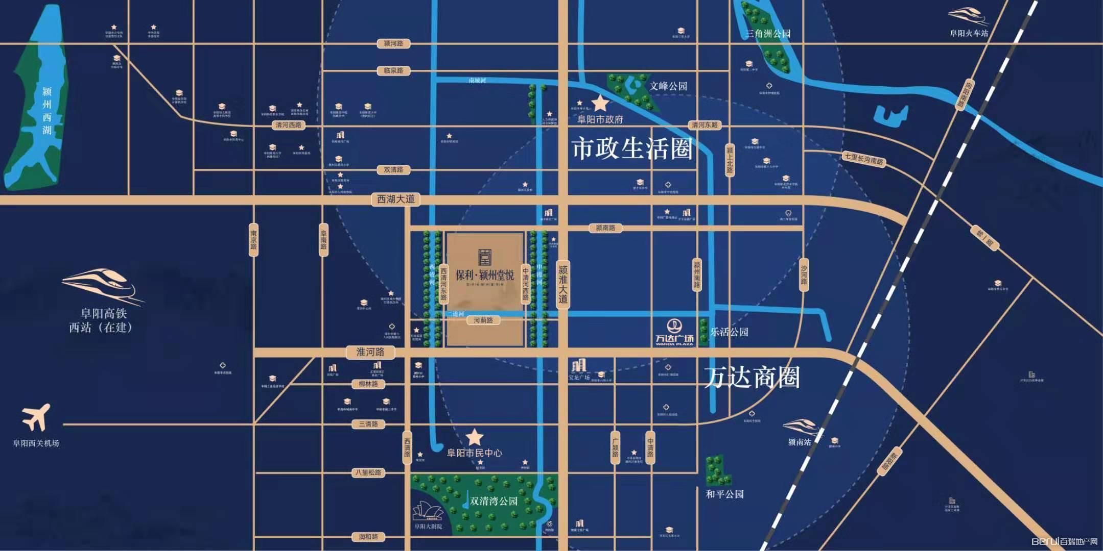 保利·颍州堂悦交通图