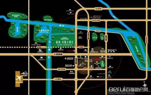 新城·阜阳大都会交通图