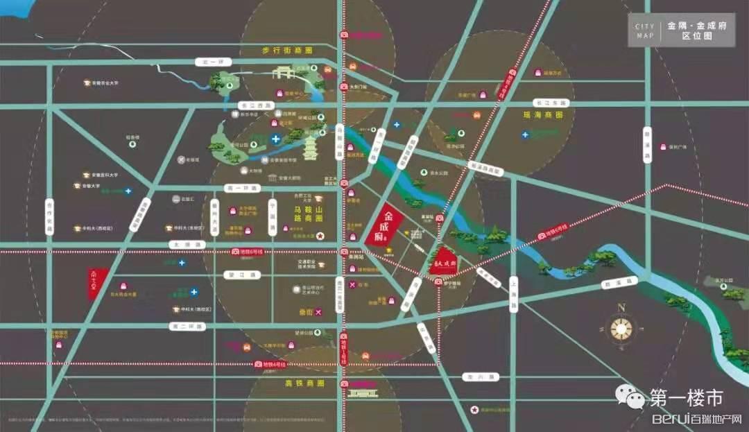 金隅金成府交通图