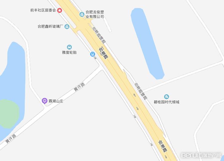 碧桂园时代倾城交通图