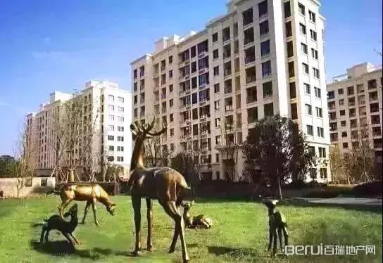 太和宝业城市绿苑实景图