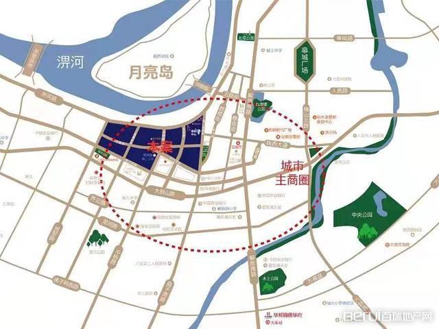 华邦新华城交通图