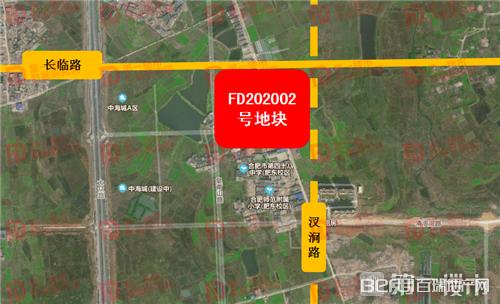 力高肥东FD202002号地块交通图