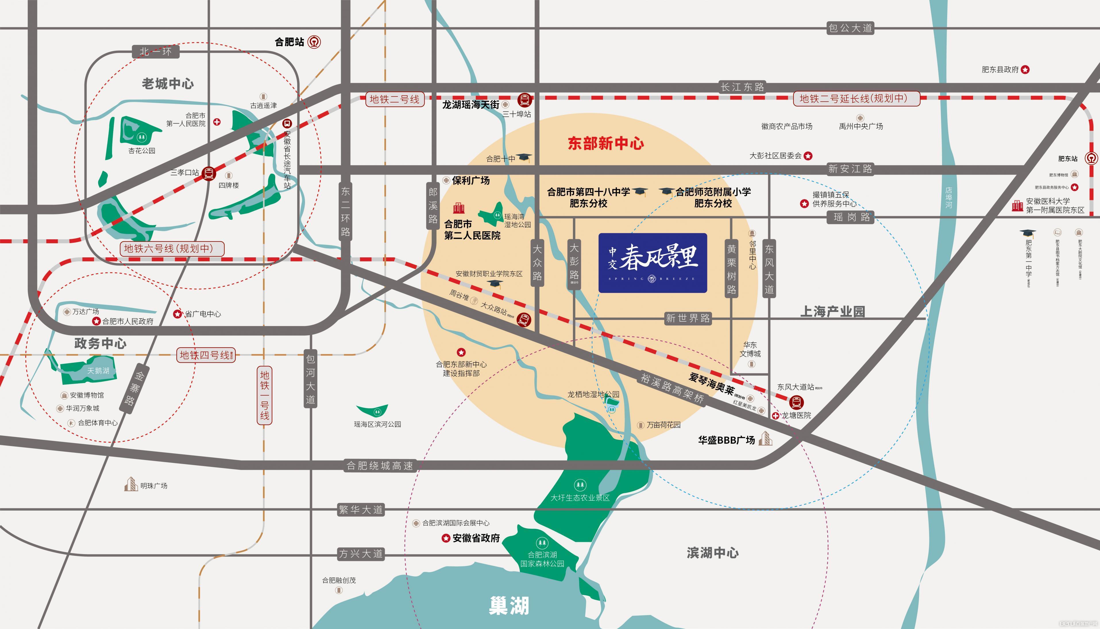 中交·春风景里交通图