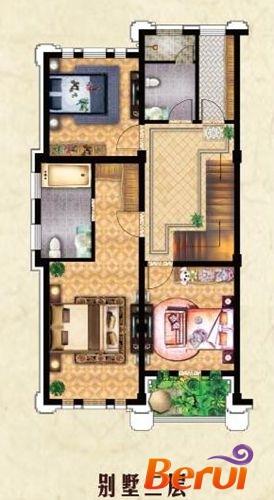 圣联·香御墅B1户型别墅二层