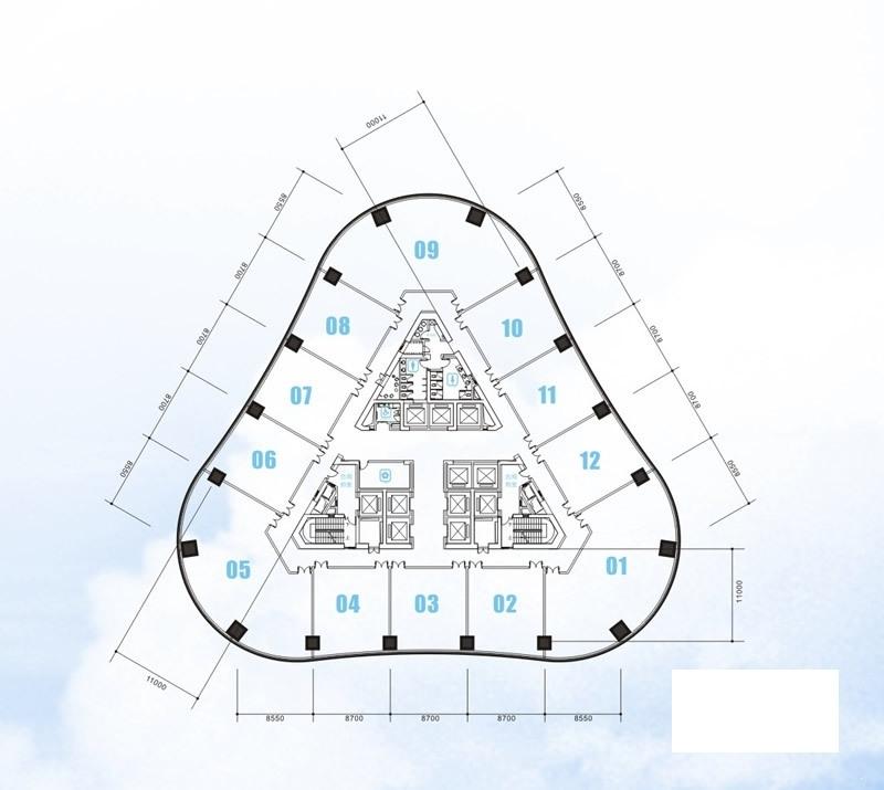 安粮国贸中心高区21-33层