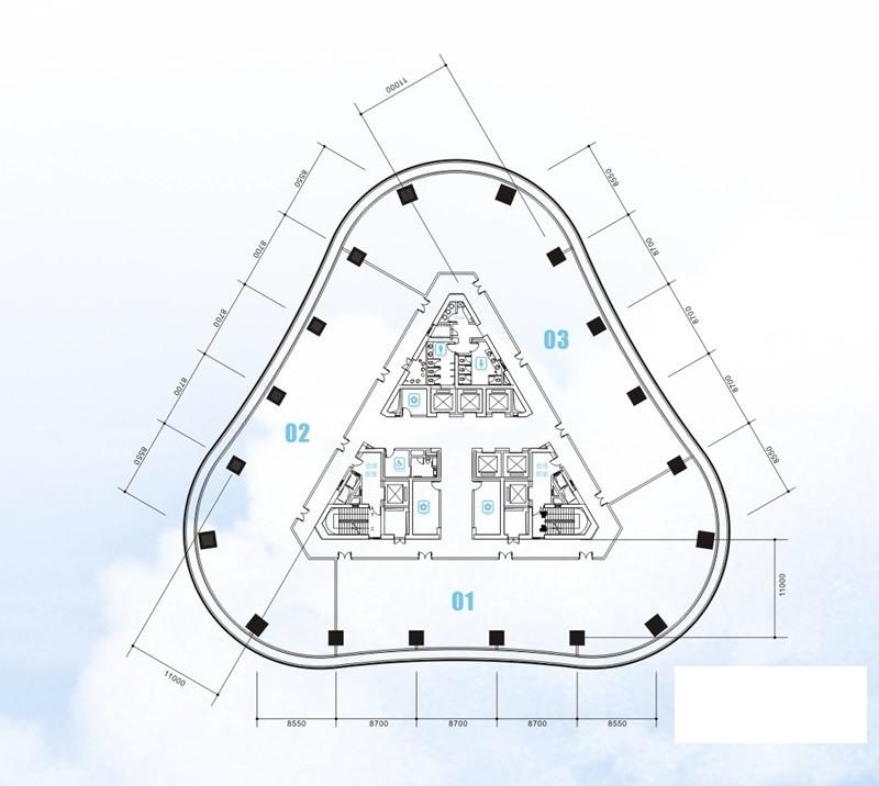 安粮国贸中心户型图