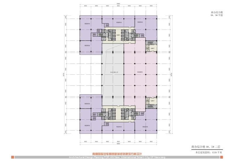 南翔汽车智慧新城商办综合楼4#、5#二层
