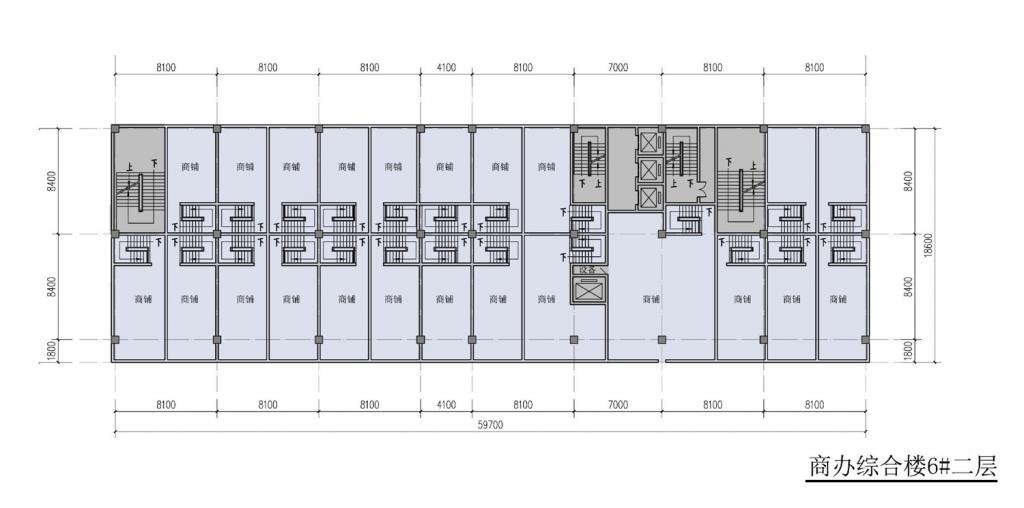 南翔汽车智慧新城商办综合楼6#二层