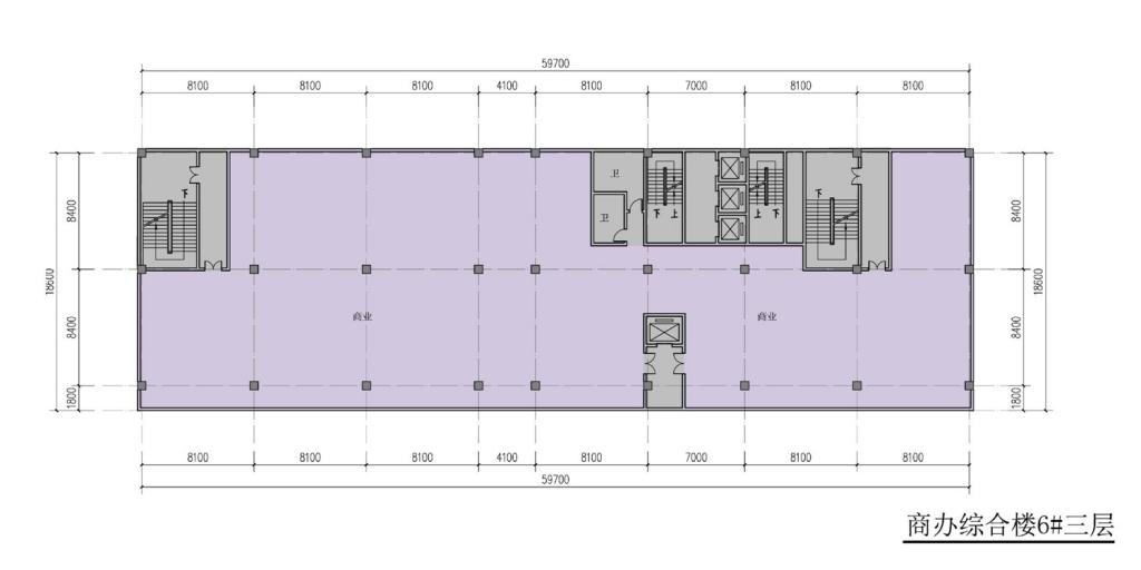 南翔汽车智慧新城商办综合楼6#三层