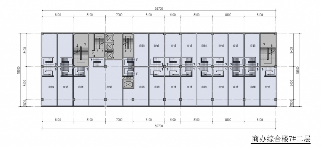 南翔汽车智慧新城商办综合楼7#二层