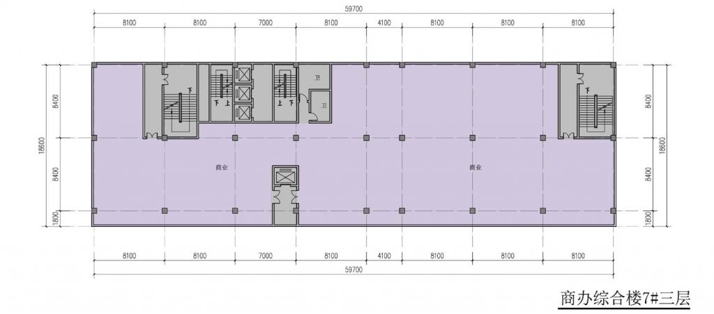 南翔汽车智慧新城商办综合楼7#三层