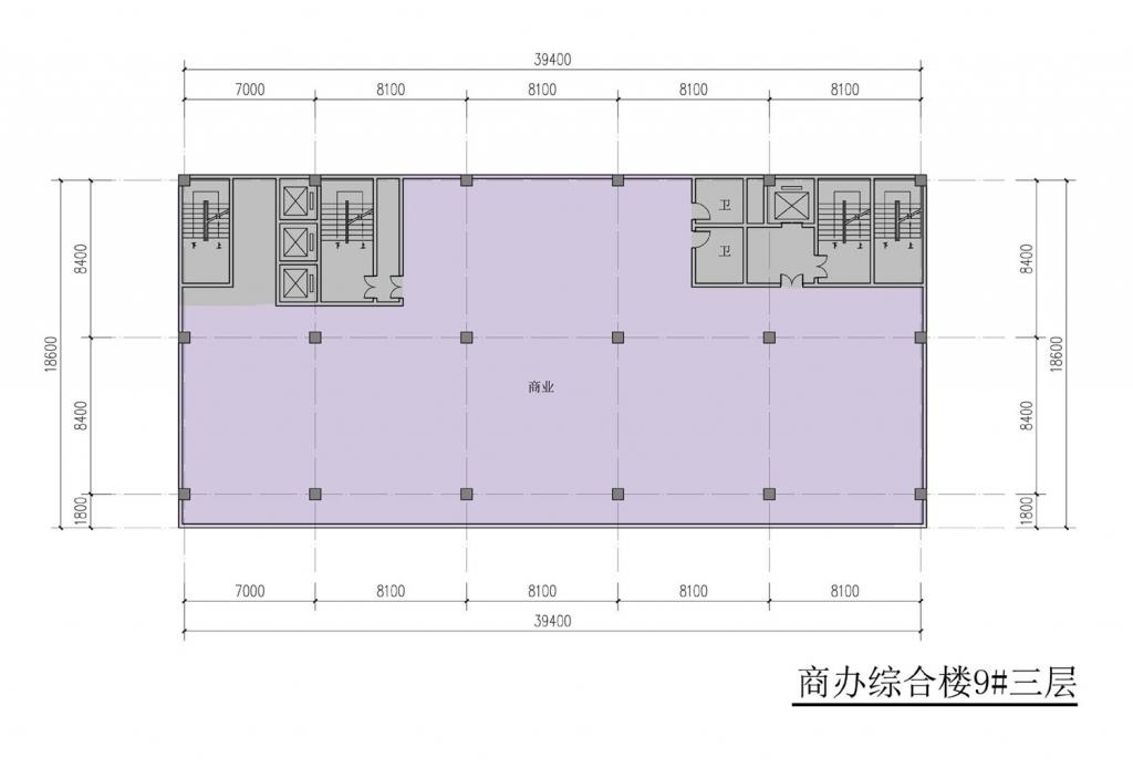 南翔汽车智慧新城商办综合楼9#三层