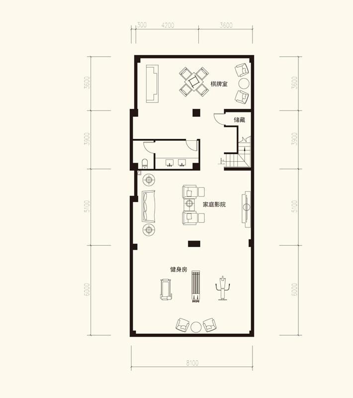九台别墅户型图