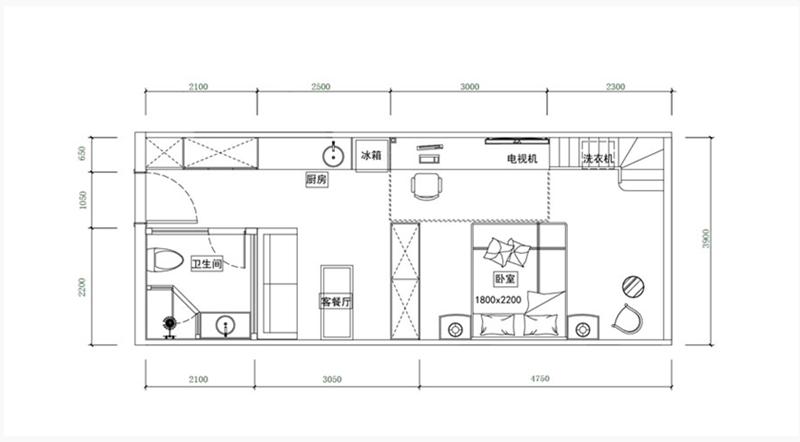 太平洋森活广场·SOHO户型图
