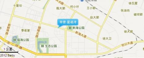 帝豪·星港湾交通图