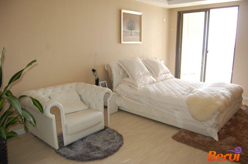 北城世纪城精装公寓样板间卧室