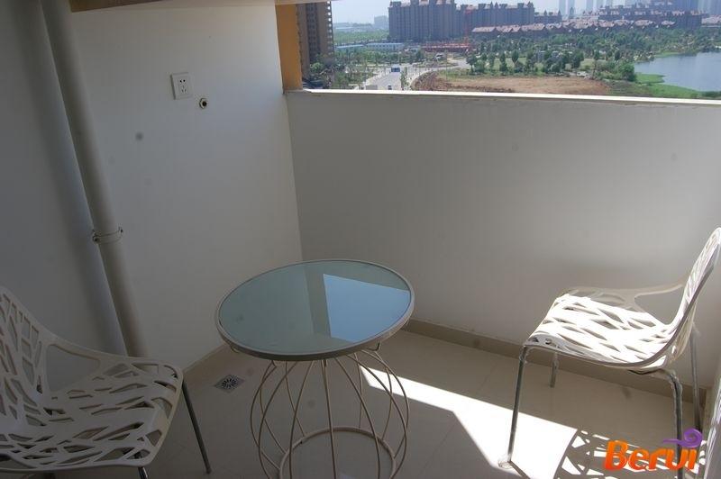 北城世纪城精装公寓样板间阳台