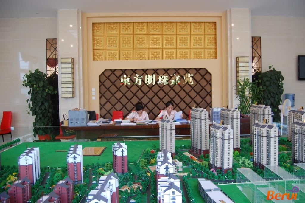 东方明珠嘉苑沙盘图