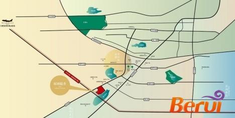 原树提香·御湖湾交通图