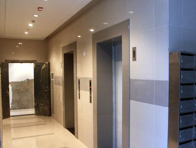 天目未来样板间电梯通道